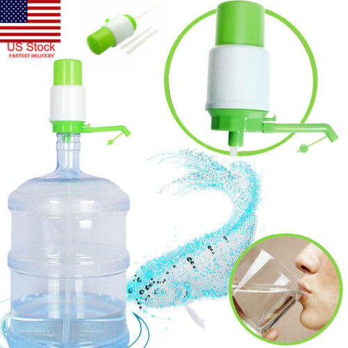 5/&6 Gal Hand Water Pump for Water Bottle Jug Manual Drinking Tap Spigot Camping