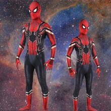 Cosplay Spider-Man Costume Iron Spider Superhero
