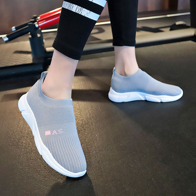 Flats Women/'s Loafers Shoes Casual Mesh Slip On Cushioning Sock Shoes Sneakers