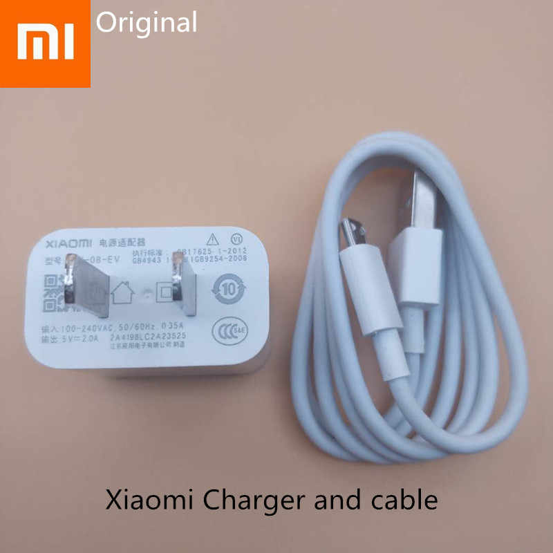 Xiaomi redmi s2 Lader Originele 5 V/2A Power adapter Charge Micro usb kabel Voor redmi 5 plus 5a 6a 4a 4x note 6 5 pro a2 lite
