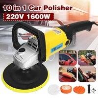 Car Polisher 1600W Variable Speed 3000rpm 180mm Car Paint Care Tool Polishing Machine Sander 220V M14 Electric Floor Polisher