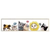 DMFLOWER Cute Cartoon Animals 3D Round Diamond Painting Home Decoration Diamond Cross Stitch Paint Gift Full Square