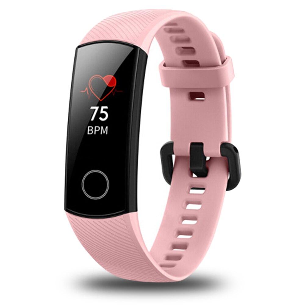 2018 huawei Honneur Bande 4 montre connectée IP68 Étanche bracelet bluetooth Fréquence Cardiaque Sommeil podomètre moniteur d'activité huawei montre connectée - 3