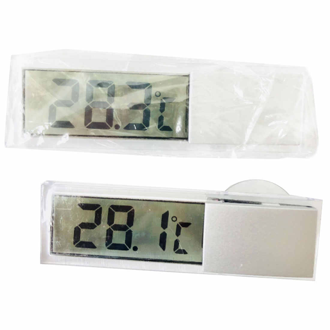 -20-110C   Weather Station LCD Digital Car Thermometer Thermostat Timer Clock Temperature Instruments Sensor Wall Type Meter