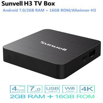 H3 Smart TV Box Android 7 0 Allwinner H3 2GB RAM 16GB ROM 2 4G WiFi