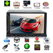 New 7 Universal 2DIN Android 8.1 Touch Screen 8-Core 4GB RAM 32GB ROM Car Stereo Radio GPS Wifi 3G 4G BT DAB Mirror Link 10 1 universal android 8 1 hd 1 din touch screen octa core 2g ram 32g rom car stereo radio gps wifi 4g bt dab dtv mirror link