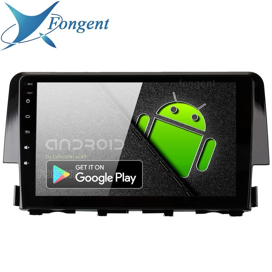 Android 9 0 Car font b Radio b font 2 Din Gps Navi For Honda Civic