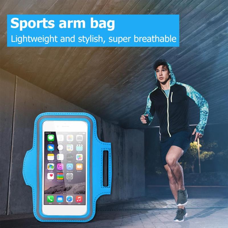 Cellphones & Telecommunications Useful Cell Phone Armband Sweatproof Outdoor Running Sports Arm Band Strap Protective Holder Pouch Case Bag For 4.7inch Phone A Plastic Case Is Compartmentalized For Safe Storage Armbands