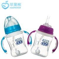 Бутылочка для кормления Baby Widemouthed Pp Baby бутылочка для кормления пластиковая бутылочка для кормления Oem по индивидуальному заказу 210 мл