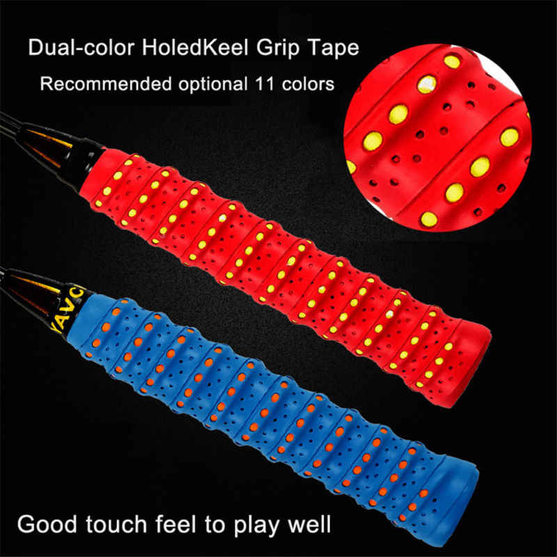 Absorb Sweat Racket Anti-slip Tape Handle Grip For Tennis Badminton Squash Bands
