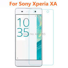 For Sony Xperia XA Tempered Glass 9H Protective Film Front Guard Screen Protector for XA Dual F3113 F3112 F3115 Saver