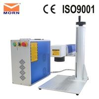 Free shipping to Russia! Portable metal CNC fiber laser engraving machine jewelry laser marker machine