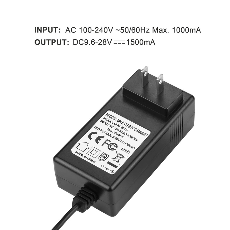 Image 3 - 9.6V 18V Multi Volt Battery Charger For Black&Decker Ni Cd Ni Mh Battery Hpb18 Hpb18 Ope Hpb12 Hpb14 Fsb14 Fsb18 Fs120Bx Us Pl-in Chargers from Consumer Electronics