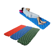 Air Mattress Inflatable Bed For Tent Portable Ultralight Sleeping Pad Moistureproof Waterproof Outdoor Camping Mat