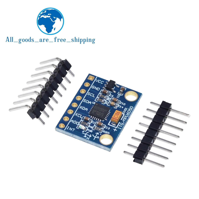 TZT GY-521 MPU-6050 MPU6050 Module 3 Axis Analog Gyro Sensors+ 3 Axis Accelerometer Module