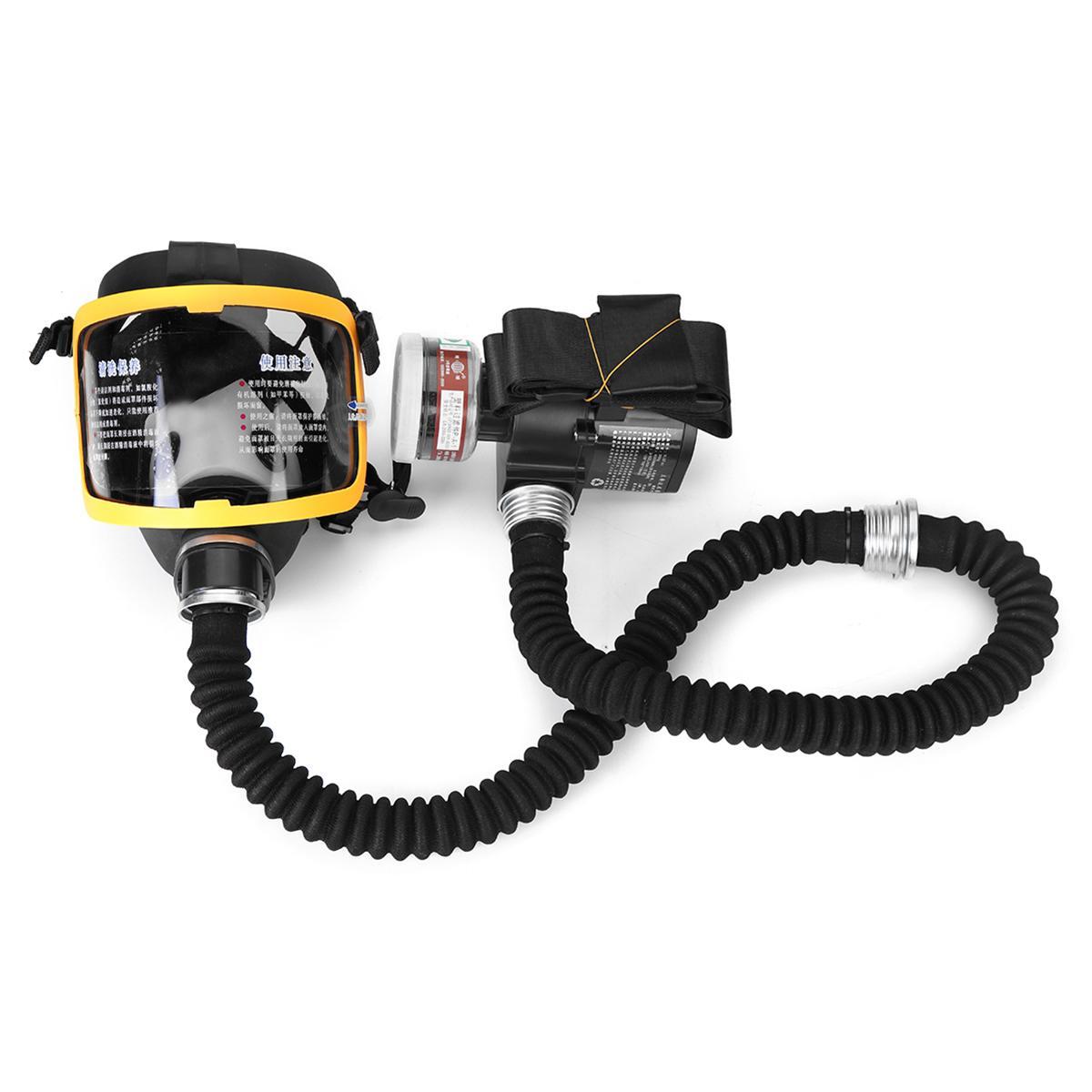 1 комплект электрическая постоянная подача воздуха подача Полный лицевой противогаз респиратор системы защитная маска бируши для работы