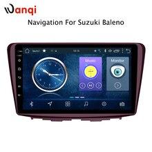 Vendita calda 9 Pollici Android 8.1 Car Dvd Player Gps per Suzuki Baleno 2015-2018 built-in Radio Navigazione di Video bt Wifi