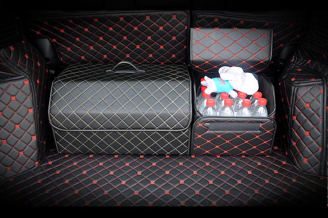Car Trunk Organizer Box Storage