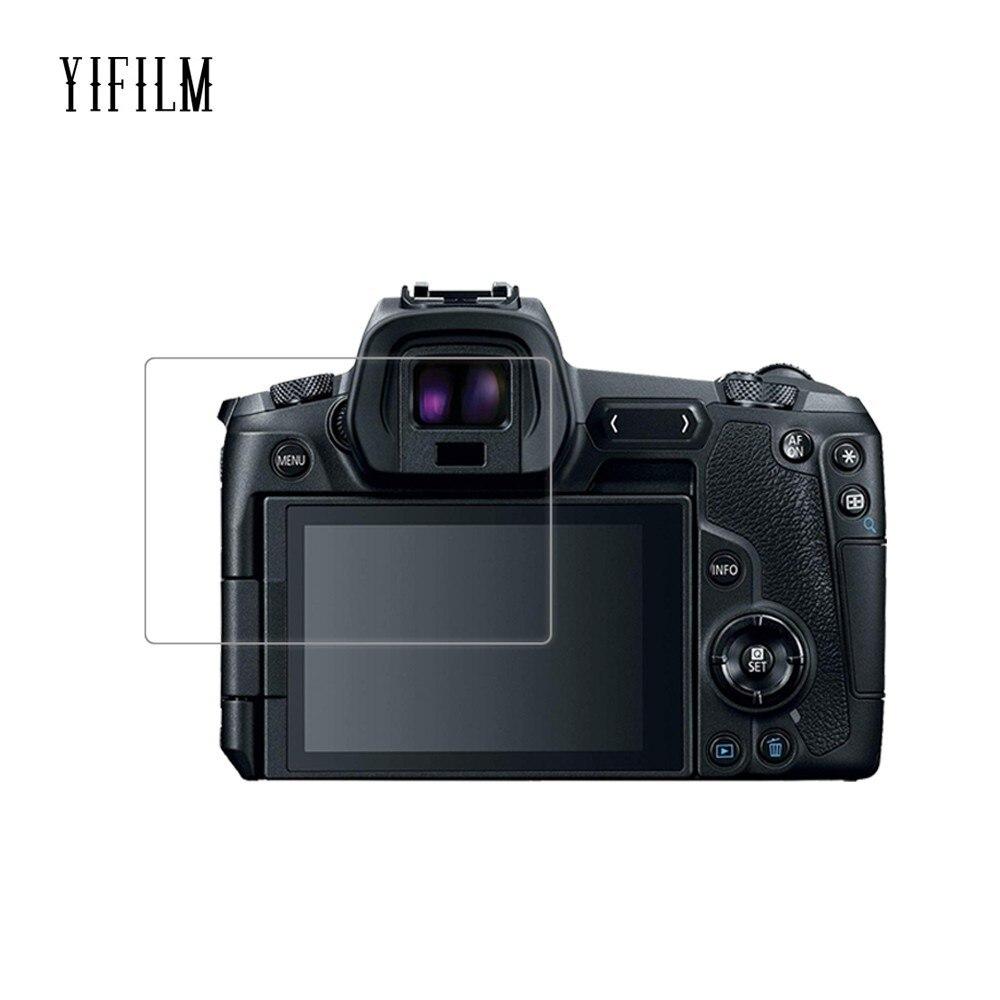 0.26mm 2.5D 9H Clear Tempered Glass Screen Protector For Canon EOS R 70D 77D 9000D 600D 80D 6D Digital Camera Anti-Scratch Film