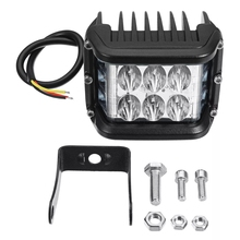цена на 4 inch 60W LED Work Light 12v 24v Driving Lamp Spot Flood Offroad Led Headlights SUV Truck 4WD ATV PickUp Car Lighting