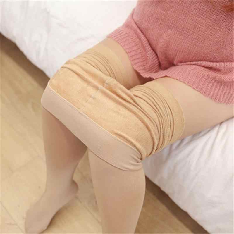 94a1006bb51 Women Autumn Compression Pantyhose Women Leg Shaping Stockings Plus Size  4XL Large Size High Elasticity 40
