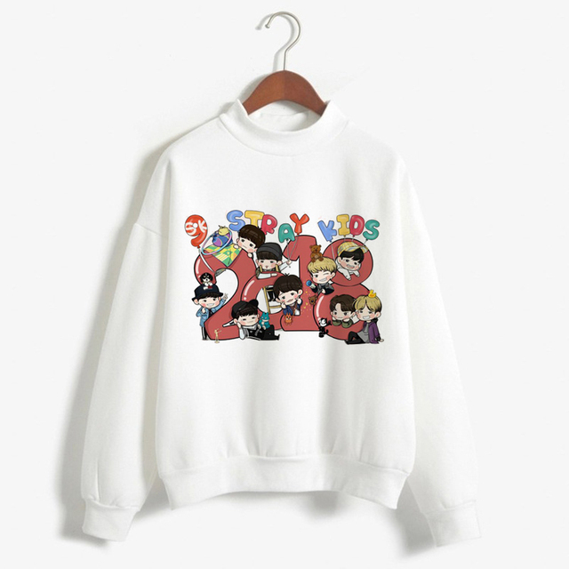 STRAY KID CHIBI SWEATSHIRT (30 VARIAN)