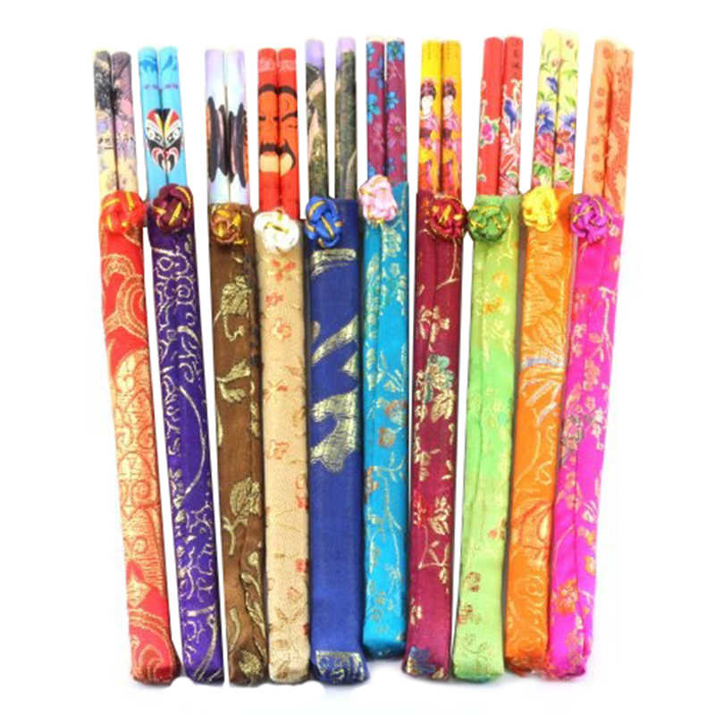 10 Pairs Chinese Bamboo Chopsticks