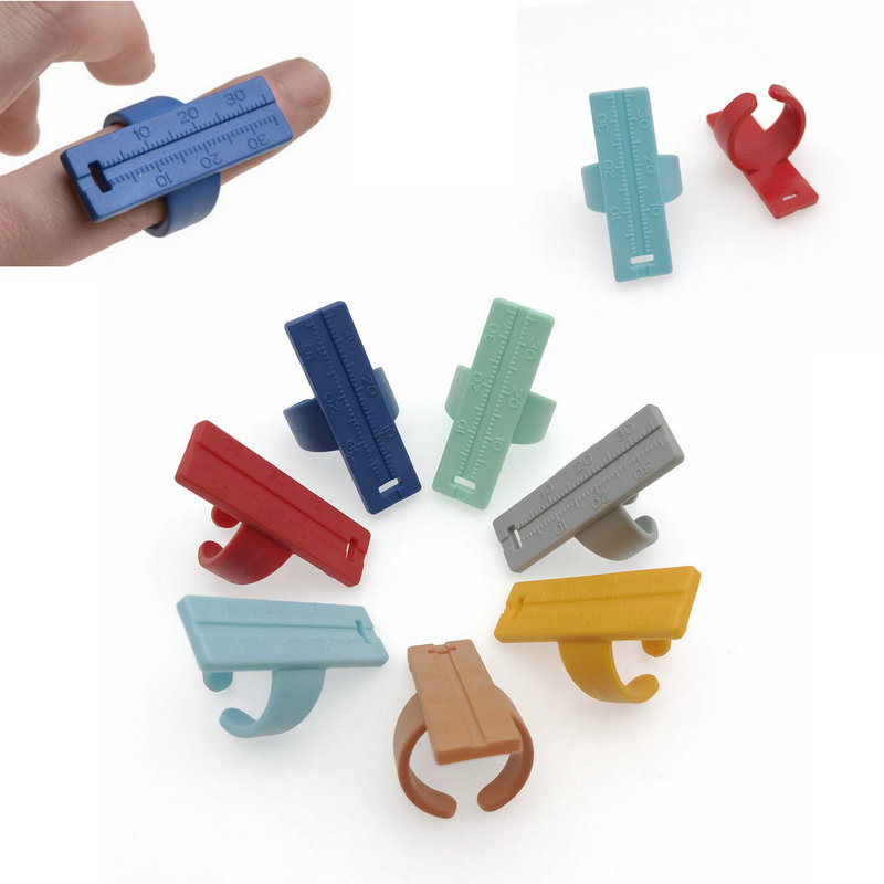 1pc Dental Root Canal Needle Finger Ruler Endo Measure