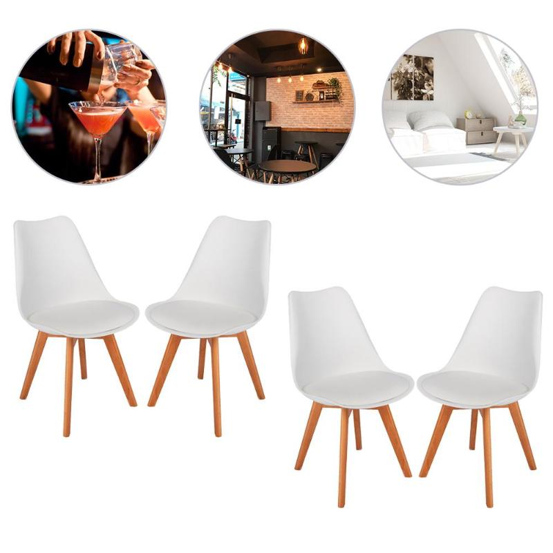 Furniture 2pcs Modern Adjustable Backrest Bar Chairs 360 Degree Rotation Seat Stool Restaurants Living Room Office Cafe Furniture Kit Bar Chairs