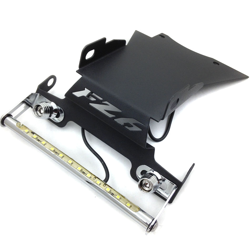 For <font><b>2006</b></font> 2007 2008 <font><b>Yamaha</b></font> <font><b>FZ6</b></font> Fazer Motorcycle Fender Eliminator Tidy Tail light License frame Bracket Aluminum Accessories Bike image