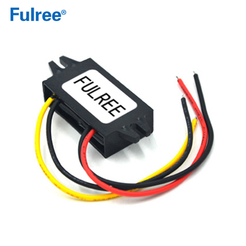 Fulree 60V 48V 36V 24V to 12V 1A DC DC Converter 48VDC to 12VDC Voltage Converter Step Down Buck Car Truck Vehicle Power