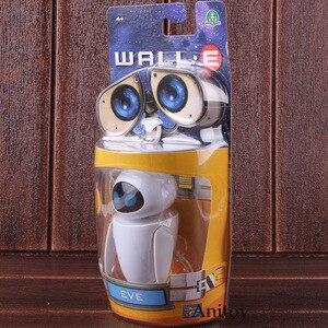 Image 5 - Wall e robô parede e & eve pvc action figure coleção modelo brinquedos bonecas 6cm