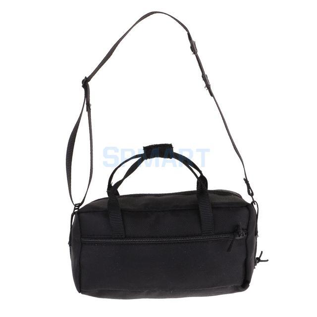 c360584b56 1 6 Scale Zippered Side Bag Large Satchel Bag for 12inch Action Figure Bank  Robber