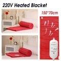 150x70 cm 220 V Huishoudelijke Elektrische Verwarming Matras Dekens Veiligheid Automatische Bescherming Warmer Verwarmde Bed Thermostaat Tapijt