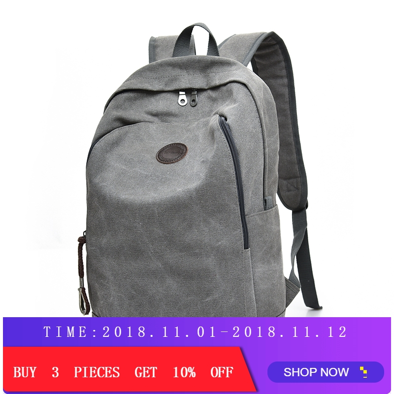купить DIDA BEAR Brand New Women Men Canvas Backpacks Large School Bags For Teenagers Boys Girls Travel Laptop Backbag Mochila Rucksack по цене 1107.03 рублей