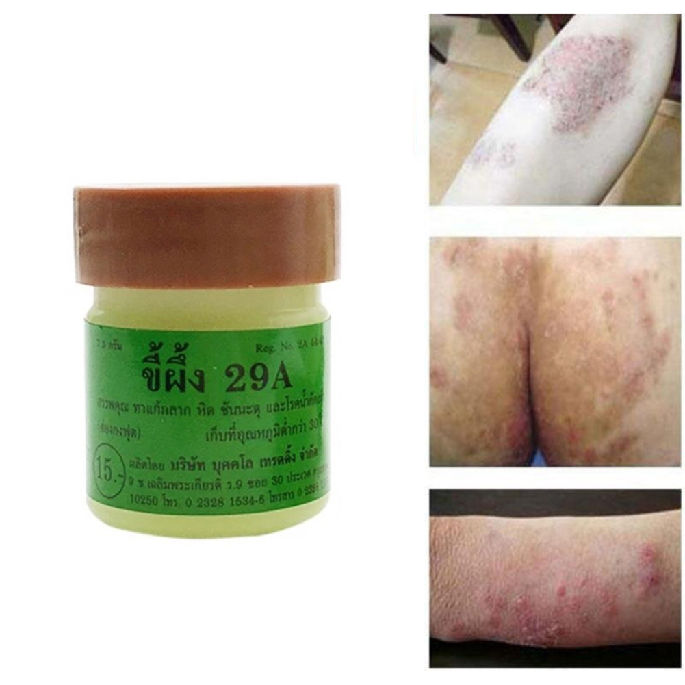 29A 7.9g/Jar Nature Ointment Antimicrobial Anti Fungal Cream Works Really Well For Psoriasi Eczma Foot Leg Skin Care Cream TSLM2