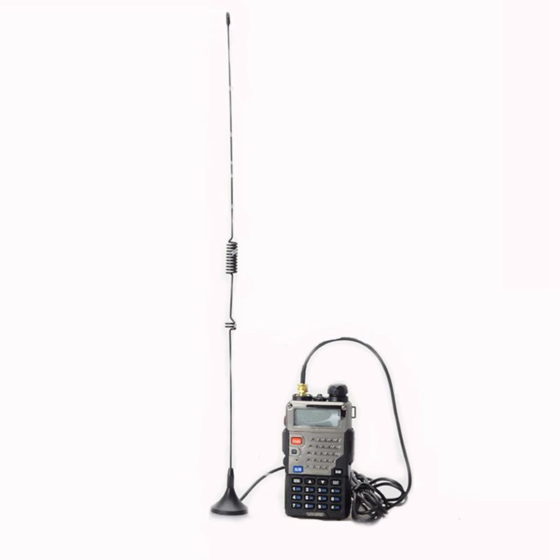 UT-106UV walkie talkie antenna DIAMOND SMA-F UT106 for HAM Radio BAOFENG UV-5R BF-888S UV-82 UV-5RE long antenna Accessories