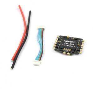 Image 5 - Hakrc 15A / 20A Blheli_S BB2 2 4S Dshot 4 In 1 Esc Speed Controller Voor 130 180 210 250 Diy Fpv Racing Drone Multcopter Outdoor