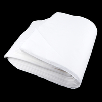 190pcs/Pack Foot Towel Non woven Bath Feet Drying Cloth Soft Super Absorbent Disposable Wiping Towels White 11x22inch