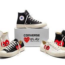 2515d1d3bf0f Caliente Original CDG Play X CONVERSE CHUCK TAYLOR ALL STAR E conjuntamente  zapatos de las mujeres