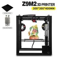 ZONESTAR Dule Three Extruder Mix Color Full Metal Large Aluminum Frame 3D Printer DIY Kit Auto Level Optional Laser Engraving