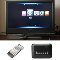 Full HD 1080P HDMI High Definition Media Center Player SD MMC MP4 Video Audio Decoder TV Video Player