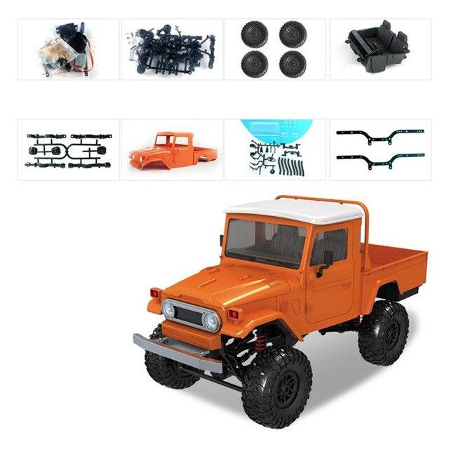 PreMN modelo MN45 1/12 KIT de 2,4G 4WD Rc coche sin ESC batería transmisor receptor de orugas escalada Off-road camión de juguetes al aire libre