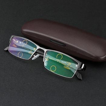 04a4dcbfd5 Gafas de lectura multifocales progresiva gafas de sol de transición para  hombres y mujeres gafas de doble Luz Para lector cerca de Far Sight FML