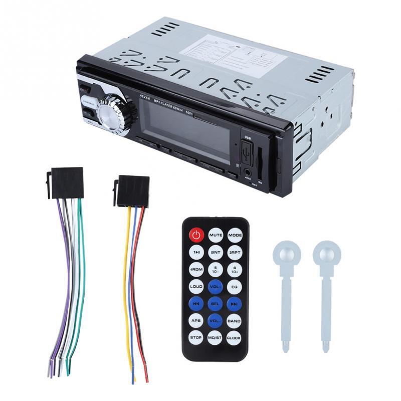 Hallo Fi Auto Bluetooth Aux Audio Eingang Sd Mm Karte Mp3 Player Mit Fernbedienung Mit Led-anzeige