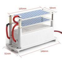 DC12V 10g/H Car Ozone Generator Air Purifier Car Ozone Machine Ozone Ceramic Plates Car Air Purifier 12V Negative