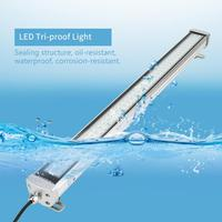 LED Panel Lights Lampada LED Batten Light Anti explosion Tri proof Working Lamp Explosion proof Lights 24 36V 40W