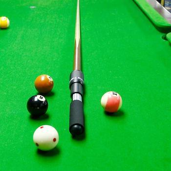 Extensión de tacos de billar telescópico extensor extremo para billar Snooker