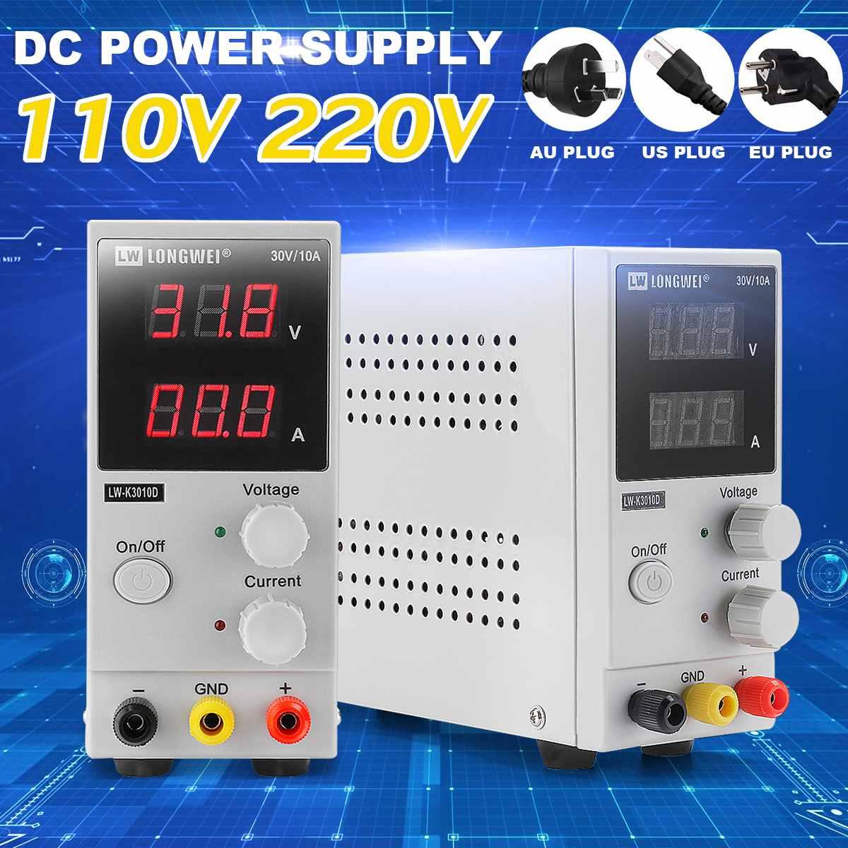 110V/220V 0-30V 0-10A Adjustable Digital DC Power Supply Switching Power Supply DC Regulated Power Supply110V/220V 0-30V 0-10A Adjustable Digital DC Power Supply Switching Power Supply DC Regulated Power Supply