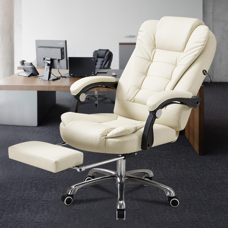 Household Modern Concise Dawdler Boss Can Lie Backrest To Work In An Office Lift Rotating Chair